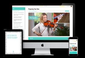 Beginner Bootcamp - Violin Online Program for Adult Beginners
